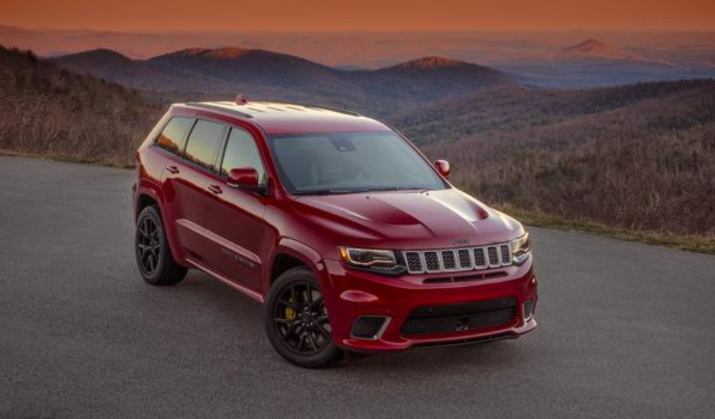 2019 Jeep Grand Cherokee Front Red Exterior